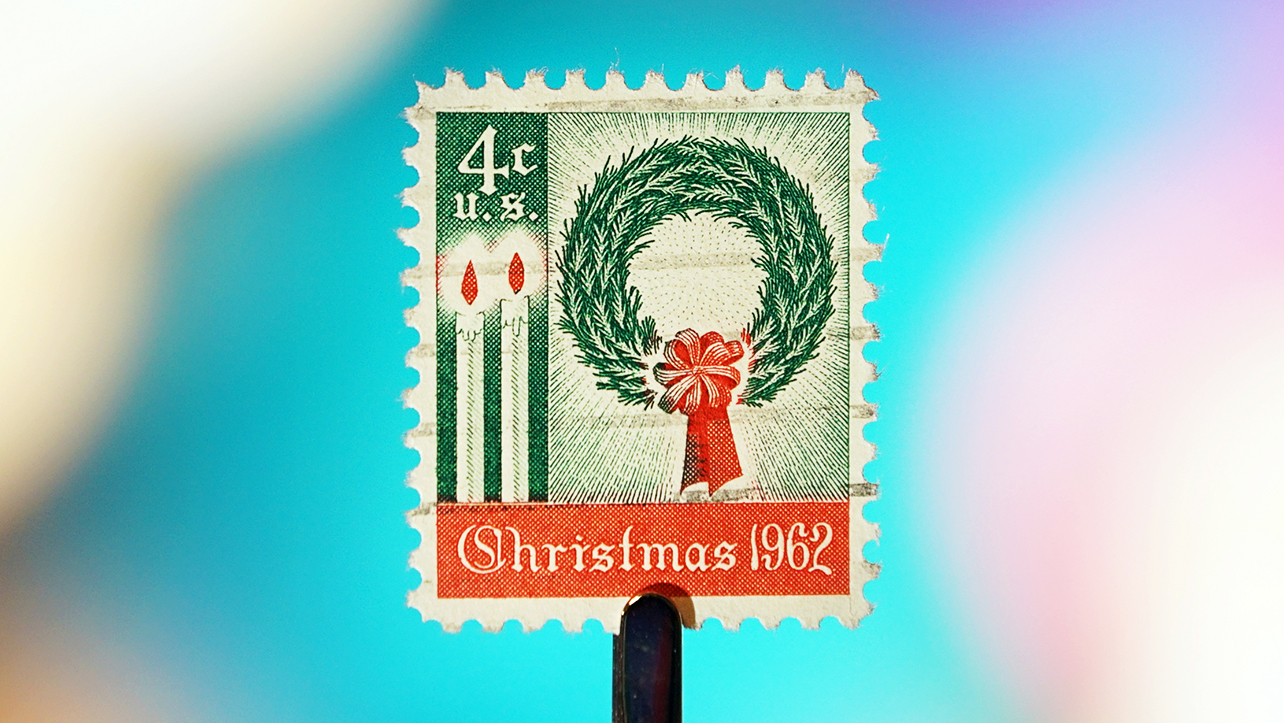 The First Christmas Stamps