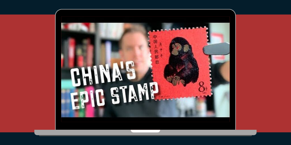 China's most coveted stamp gets star treatment in latest Exploring Stamps video