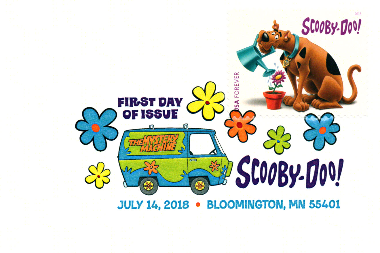 Scooby-Doo Stamp Ceremony held in Bloomington, Minnesota