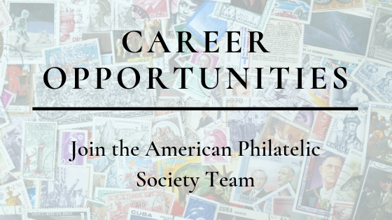 New Career Opportunities at the American Philatelic Society