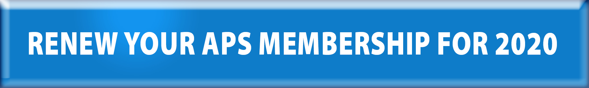 Renew your APS membership
