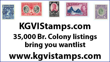 KGVI Stamps